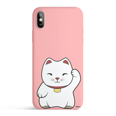 Maneki Neko - Colored Candy Matte TPU iPhone Case Cover - Milkyway Cases -  iPhone - Samsung - Clear Cut Silicone Phone Case Cover