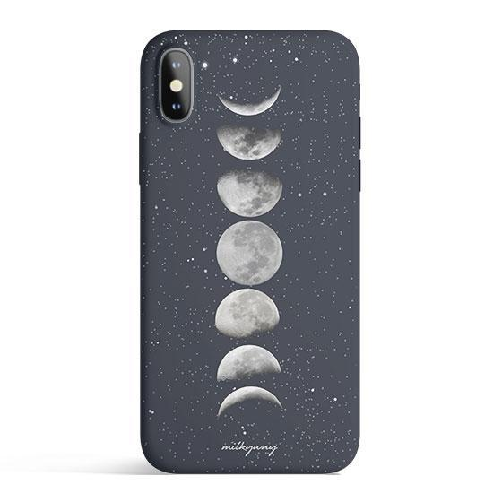 Moon Phases - Matte TPU - iPhone Case