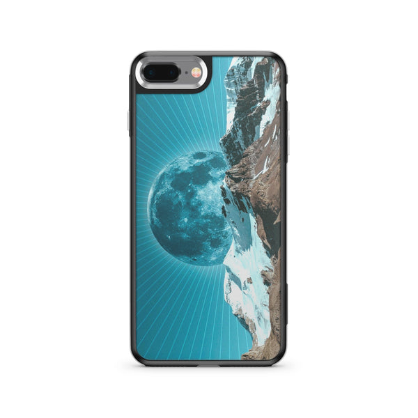 Moon Rays - Slate Case Milkyway iPhone Samsung Clear Cute Silicone 8 Plus 7 X Cover
