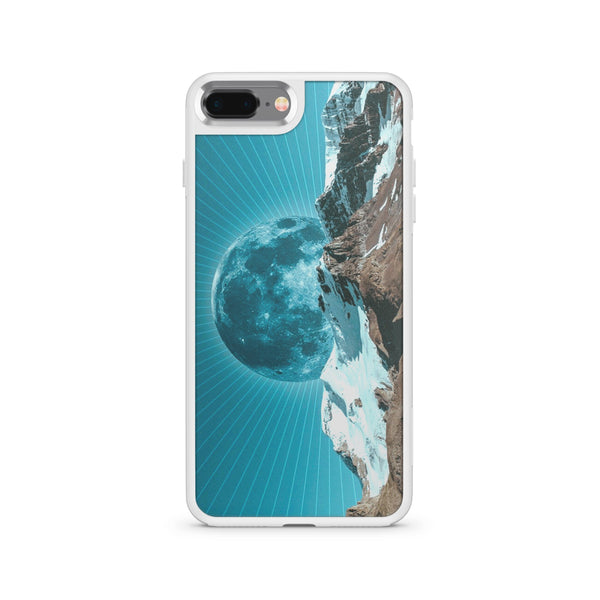 Moon Rays - Slate Case - Milkyway Cases -  iPhone - Samsung - Clear Cut Silicone Phone Case Cover