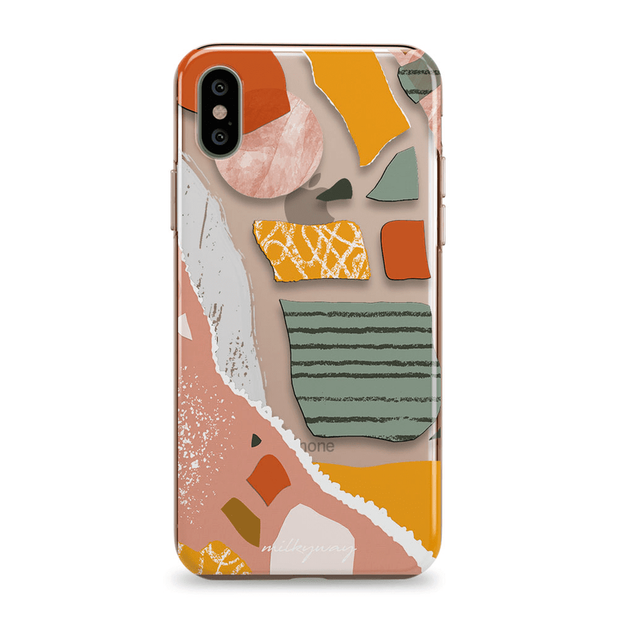 Paper Mache - iPhone Clear Case