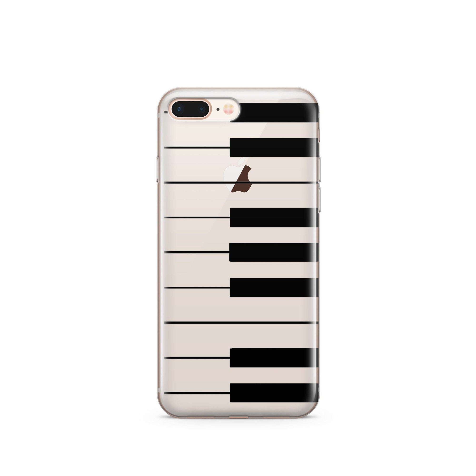 the piano keyboard clear tpu case cover milkyway. Black Bedroom Furniture Sets. Home Design Ideas