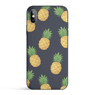 Pineapple Overload - Colored Candy Cases Matte TPU iPhone Cover