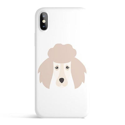Poodle - Colored Candy Cases Matte TPU iPhone Cover Milkyway iPhone Samsung Clear Cute Silicone 8 Plus 7 X Cover