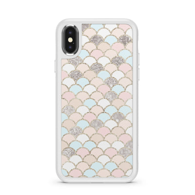 Posh Mermaid - Slate Case Milkyway iPhone Samsung Clear Cute Silicone 8 Plus 7 X Cover