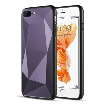 3D Diamond Cut iPhone Case