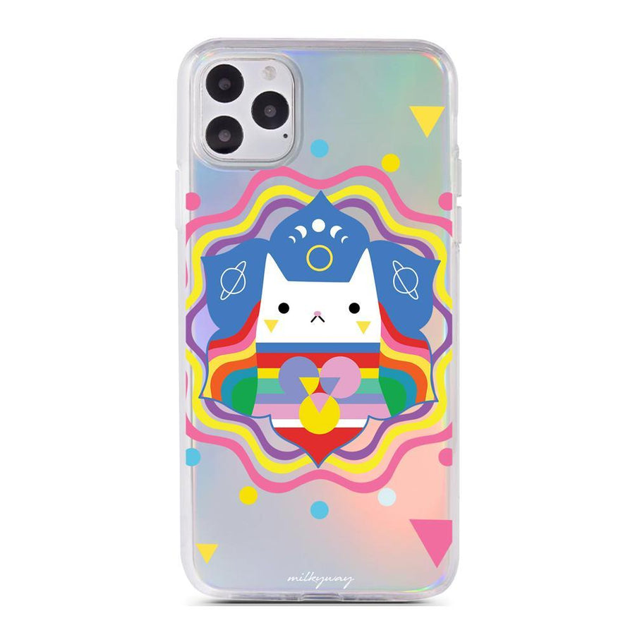 Reiki - Holographic iPhone Case
