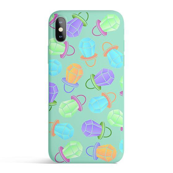 Ring Pop - Colored Candy Cases Matte TPU iPhone Cover