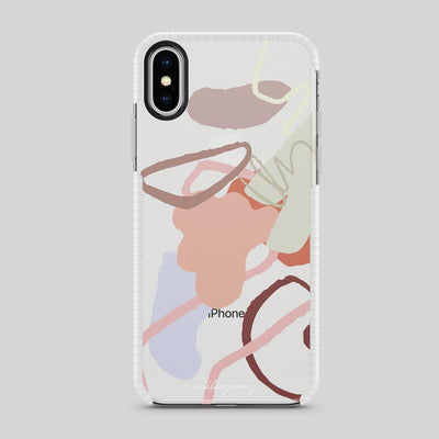 Tough Bumper iPhone Case - Squiggle