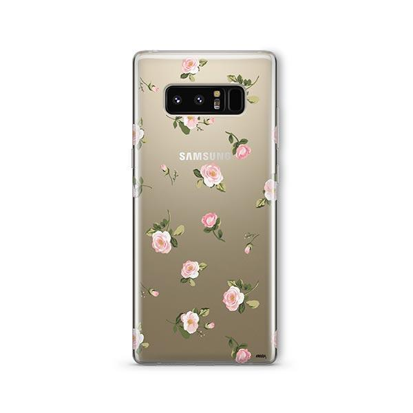 Blush - Samsung Galaxy Note 8 Case Clear