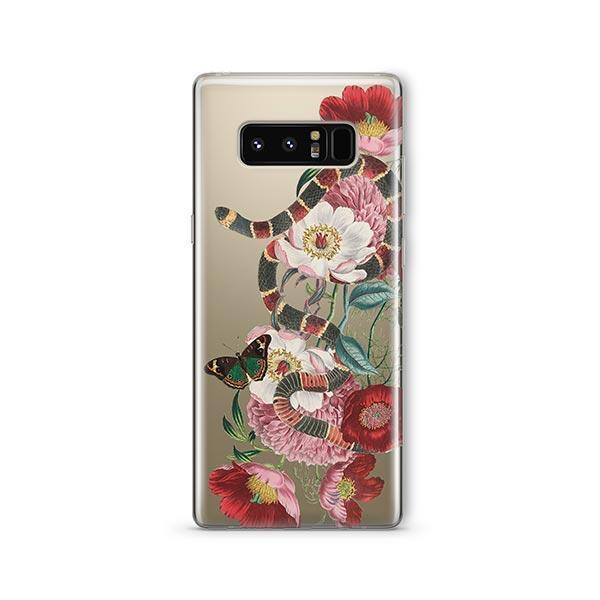 Adam And Eve -  Samsung Galaxy Note 8 Case Clear