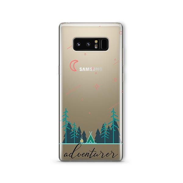 Adventurer - Samsung Galaxy Note 8 Case Clear