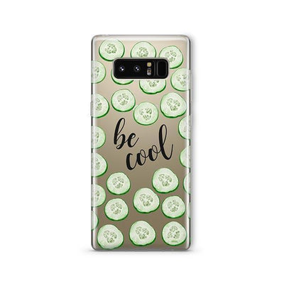 Be Cool - Samsung Clear Case