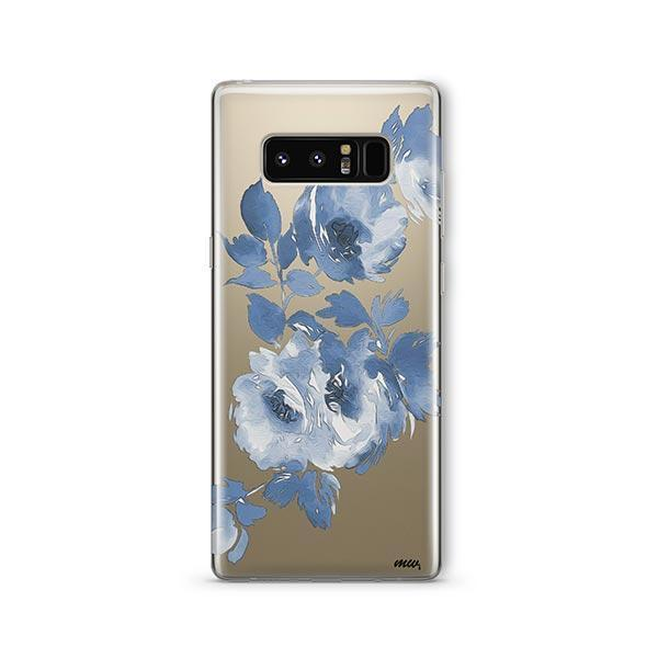 Blue Crush - Samsung Galaxy Note 8 Case Clear