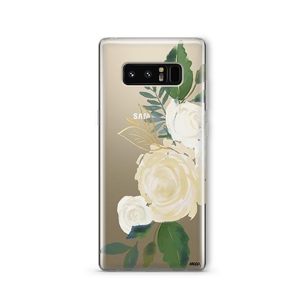 Caroline - Samsung Galaxy Note 8 Case Clear