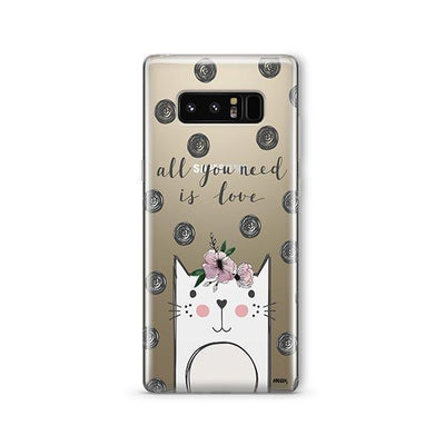 Cat Love - Samsung Clear Case