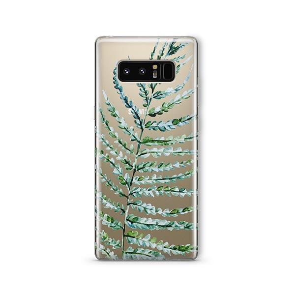 Fern - Samsung Galaxy Note 8 Case Clear