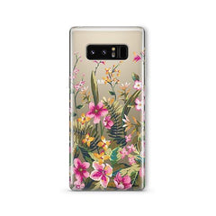 Growing Garden - Samsung Galaxy Note 8 Case Clear