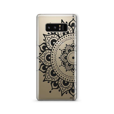 Hayley Mandala - Samsung Clear Case