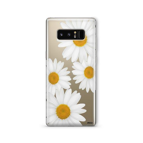 It's Daisies - Samsung Galaxy Note 8 Case Clear