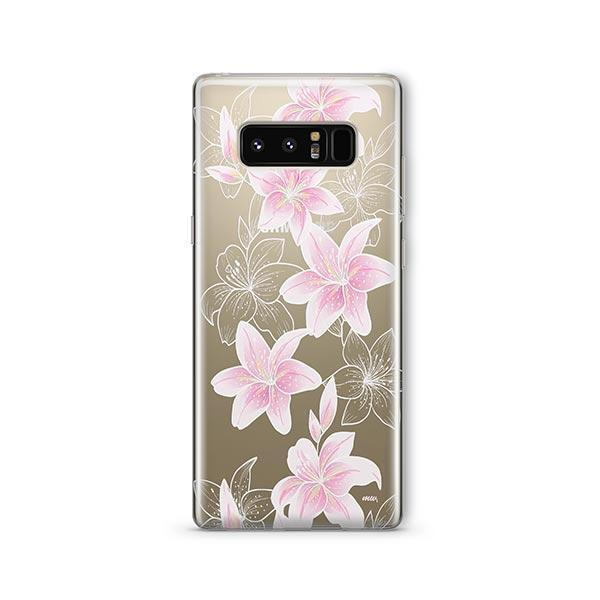 Lily Beth - Samsung Galaxy Note 8 Case Clear