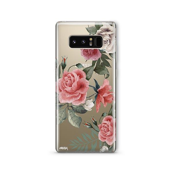 Petals - Samsung Galaxy Note 8 Case Clear