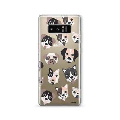 Puppy Love - Samsung Clear Case