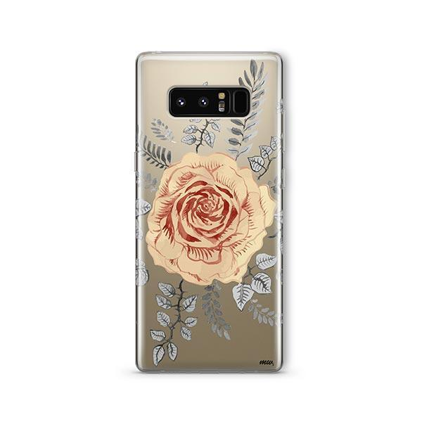 Ryan Rosas - Samsung Galaxy Note 8 Case Clear