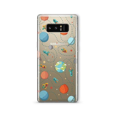 Space Case - Samsung Clear Case