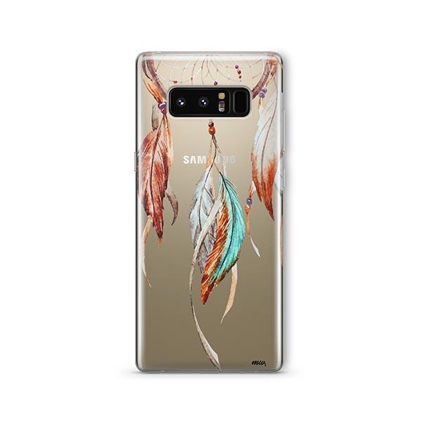 Watercolor Dreamcatcher - Samsung Clear Case