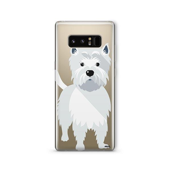 Westie - Samsung Clear Case
