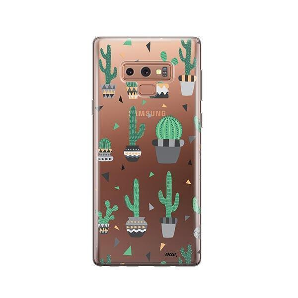 Cactus Party - Samsung Galaxy Note 9 Case Clear