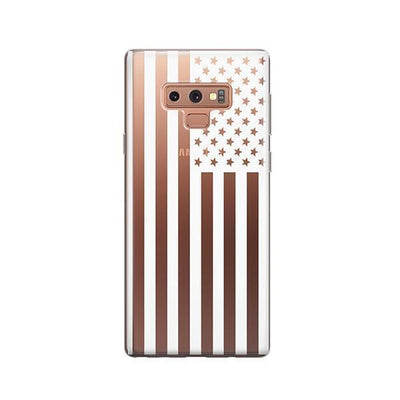 USA Flag - Samsung Clear Case