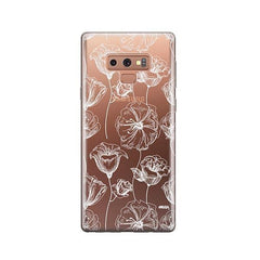 Tulip Garden - Samsung Galaxy Note 9 Case Clear