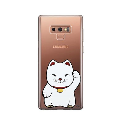 Lucky Cat - Samsung Clear Case