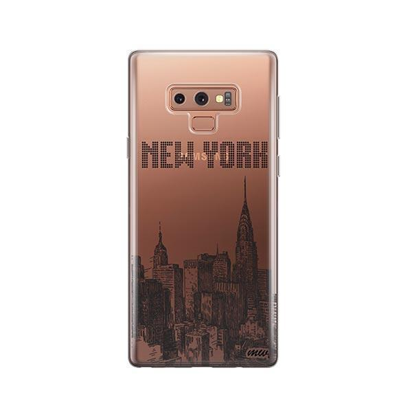 The Big Apple - Samsung Galaxy Note 9 Case Clear