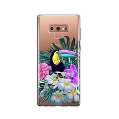 Toucan -  Samsung Galaxy Note 9 Case Clear
