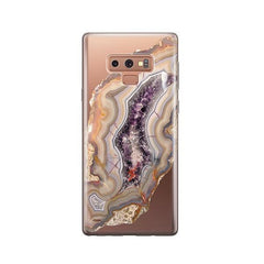 Agate - Samsung Galaxy Note 9 Case Clear