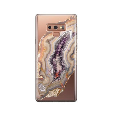 Agate - Samsung Clear Case