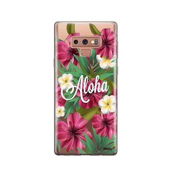 Aloha 2.0 - Samsung Galaxy Note 9 Case Clear