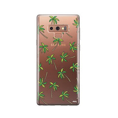 Aloha Trees - Samsung Galaxy Note 9 Case Clear