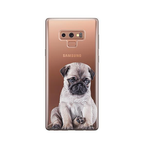 Baby Pug -  Samsung Galaxy Note 9 Clear Case
