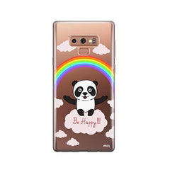 Be Happy - Samsung Galaxy Note 9 Case Clear