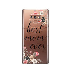 Best Mom Ever - Samsung Galaxy Note 9 Case Clear