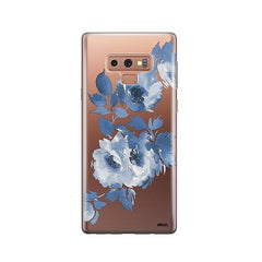 Blue Crush - Samsung Galaxy Note 9 Case Clear