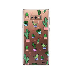 Cactus Love - Samsung Galaxy Note 9 Case Clear