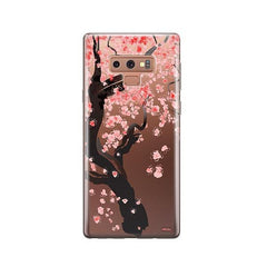 Cherry Blossom Tree - Samsung Galaxy Note 9 Case Clear