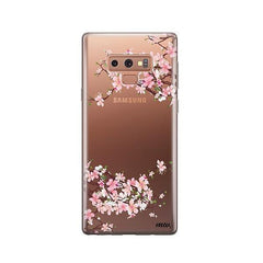 Cherry Blossom - Samsung Galaxy Note 9 Case Clear