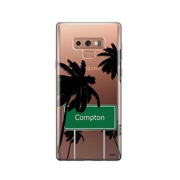 Compton - Samsung Galaxy Note 9 Case Clear
