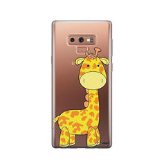 Cute Giraffe -  Samsung Galaxy Note 9 Case Clear